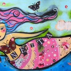 Sirenetta Original painting
